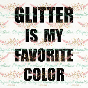 Glitter Digital Cut File