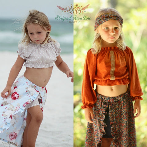 Gypsy Top PDF Pattern 6M-14yrs