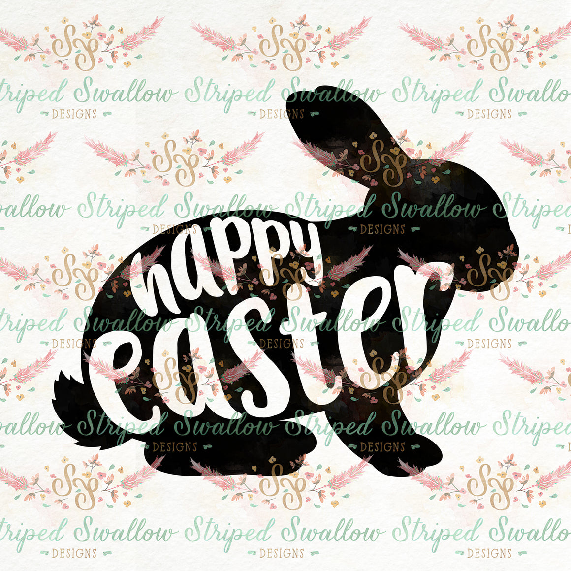 Happy Easter Digital Cut File
