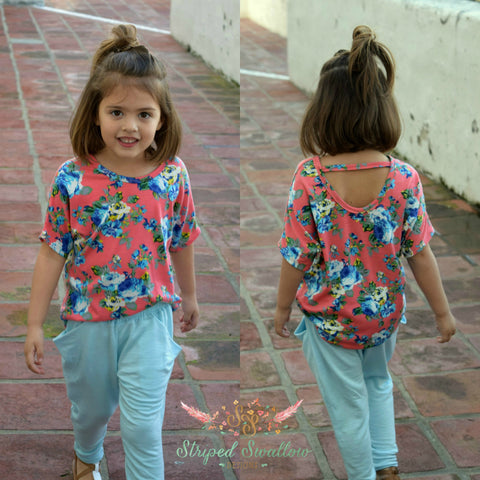 Highlander Dolman PDF Pattern Girls 2T-14YRS