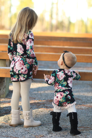 Long Sleeve Add-On for Baby and Girls' Emerie Romper