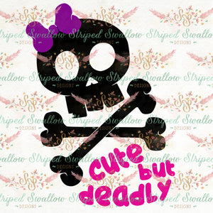 Cute But Deadly Layered Digital Cut File