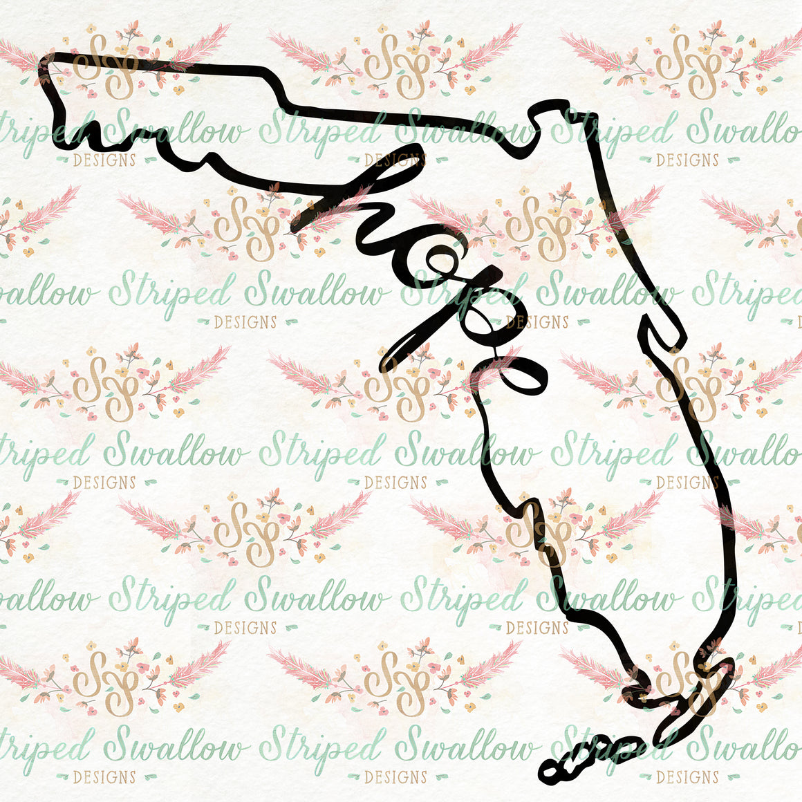 Hope for Florida Digital Cut File