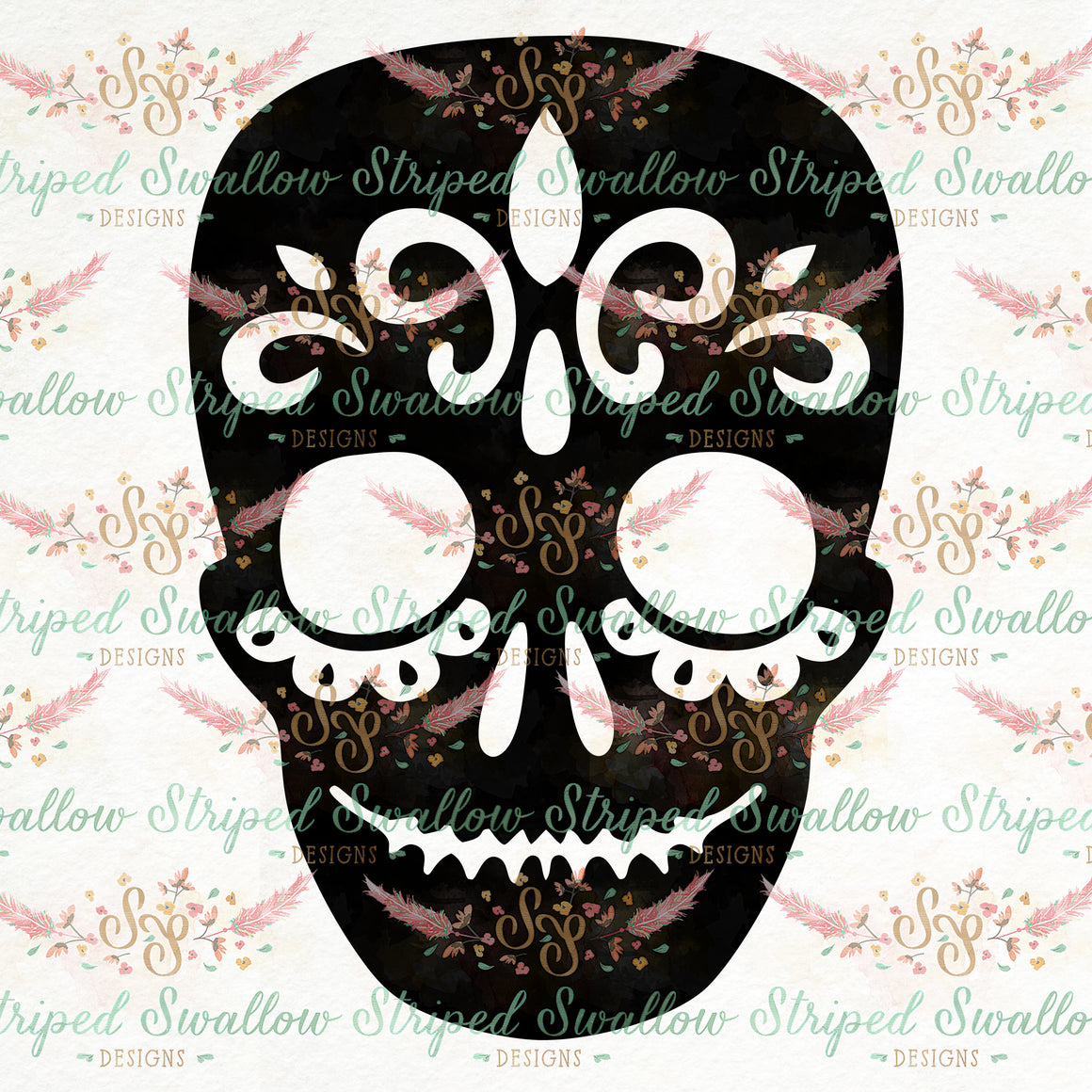 Sugar Skull Digital Cut File