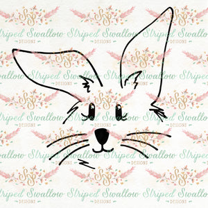 Little Bunny Digital Cut File