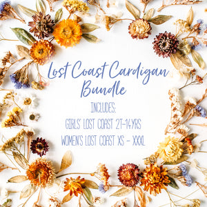 Lost Coast Cardigan Bundle