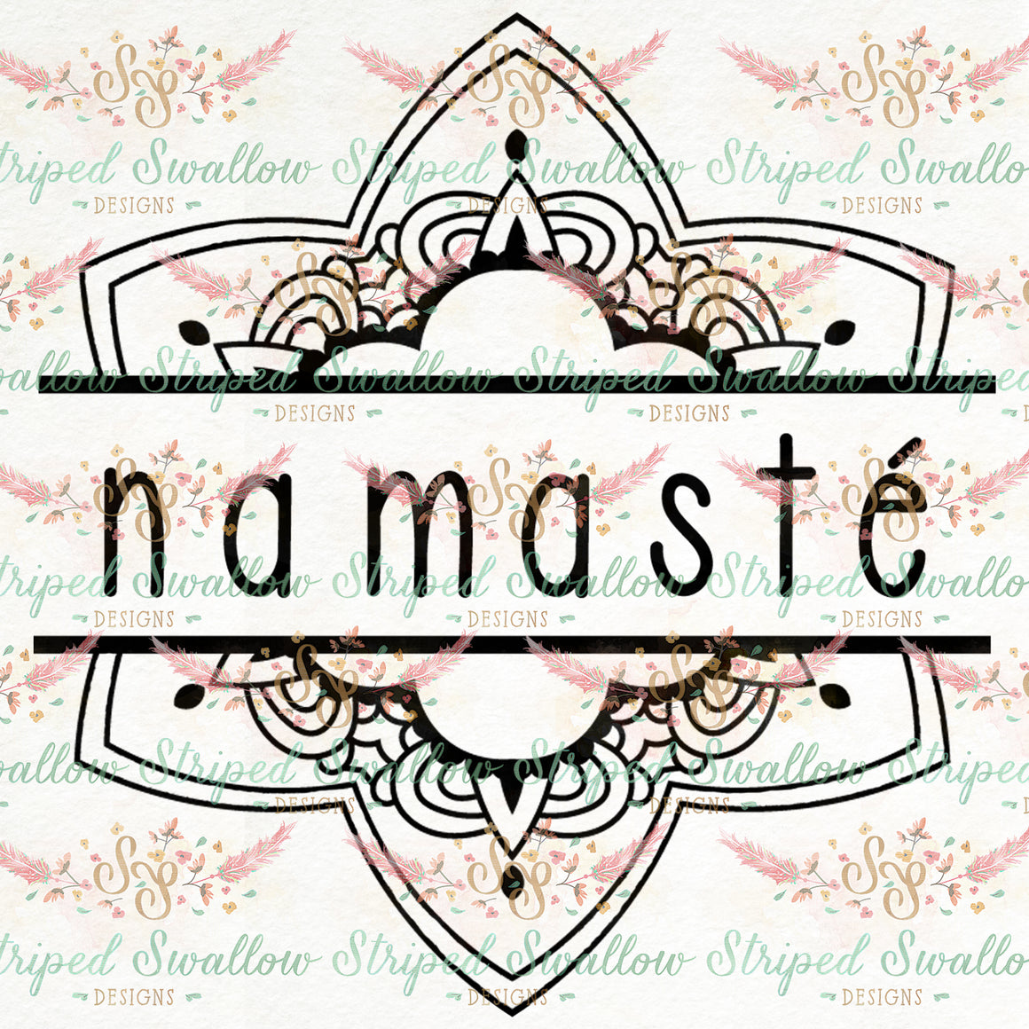 Namasté Digital Cut File