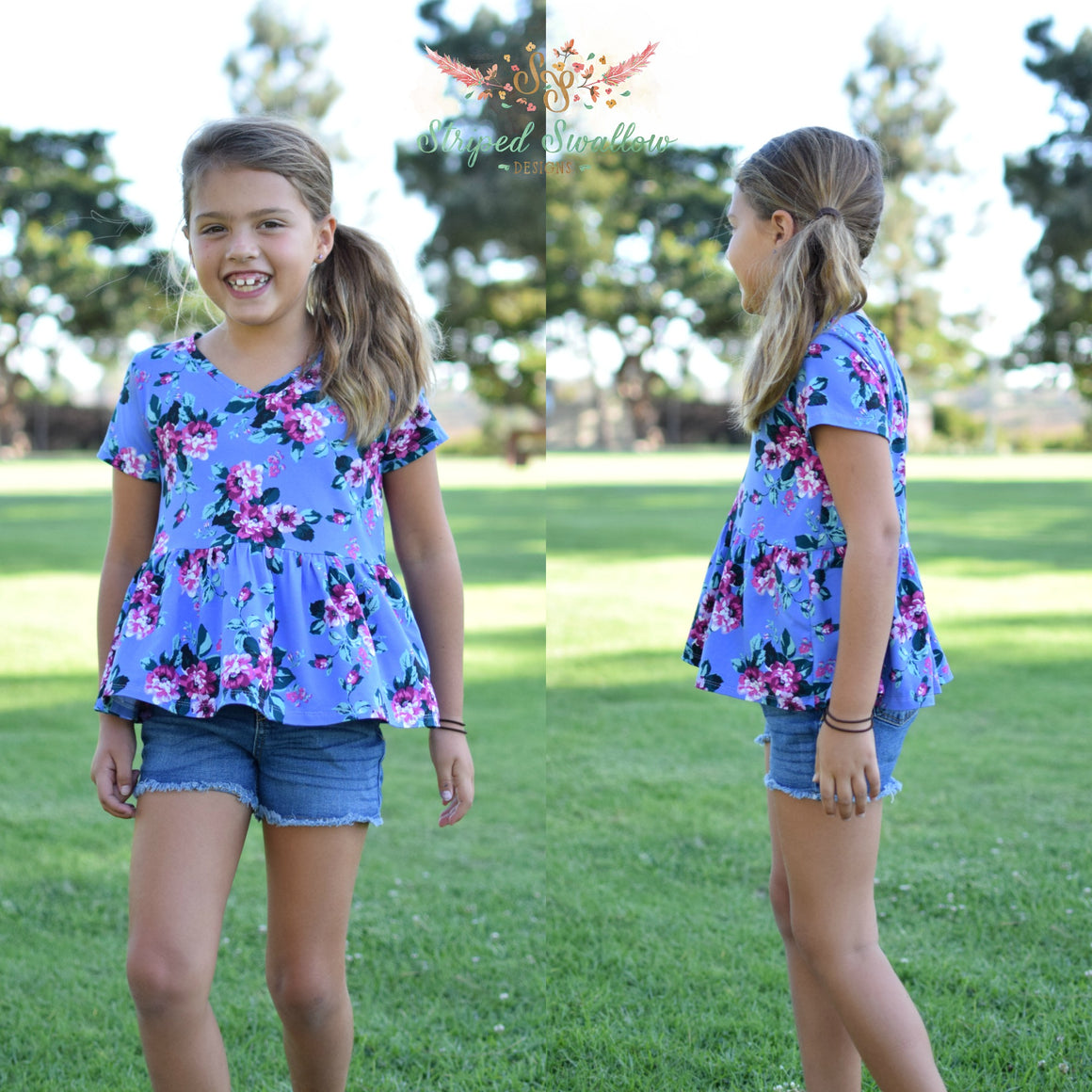 Ocean Isle PDF Pattern Girls 2T-14yrs