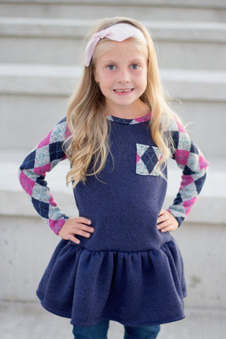 Willow Raglan PDF Pattern Girls NB-14yrs