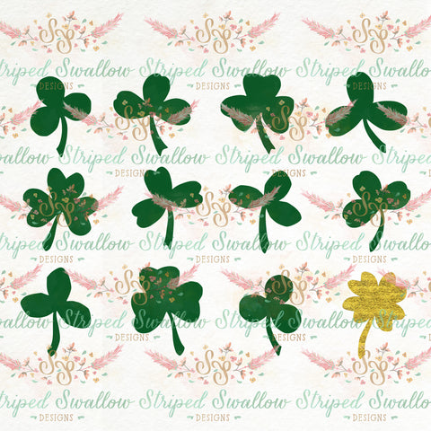Shamrocks Digital Cut File