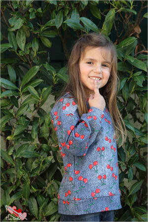 Starry Night PDF Pattern Girls 2T-14yrs