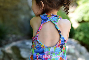 Sundown Tank PDF Pattern Girls NB-14yrs