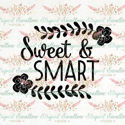 Sweet & Smart Digital Cut File