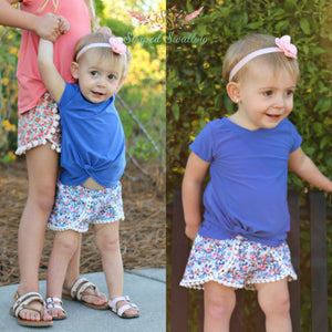 Harbor Knot PDF Pattern Baby NB-2T