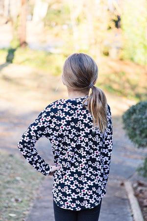 Cloud 9 Tee PDF Pattern Girls 2T-14yrs