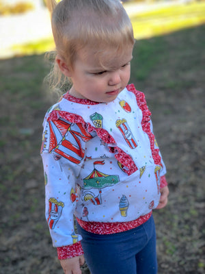 Falling for You PDF Pattern Girls' 2T-14yrs