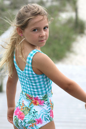 Into the Blue PDF Pattern Girls 2T-14yrs
