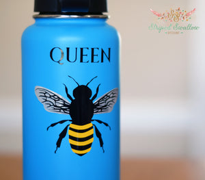 Queen Bee Layered Digital Cut File