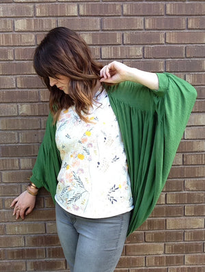 Wildflower Kimono PDF Pattern NB-14yrs / Women XS-XXXL