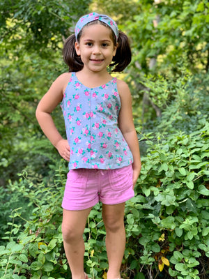 Island Time PDF Pattern Girls 2t-14yrs