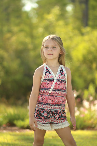 Sunkissed Romper and Dress PDF Pattern Girls 2T-14yrs