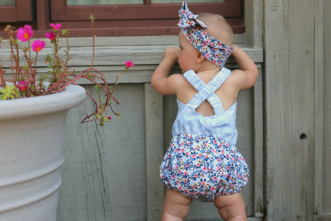 Baby Valley Daze PDF Pattern NB-2T