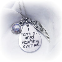 I have an angel Cremation Necklace - Made with Ashes