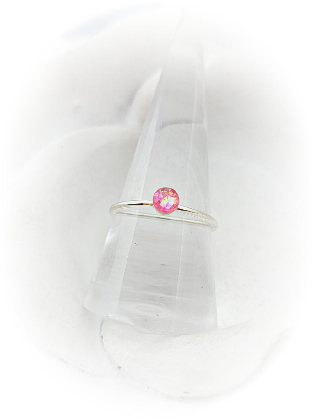 Sterling Silver 4mm Cremation Ring