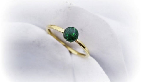 14k Gold Filled Cremation Ring