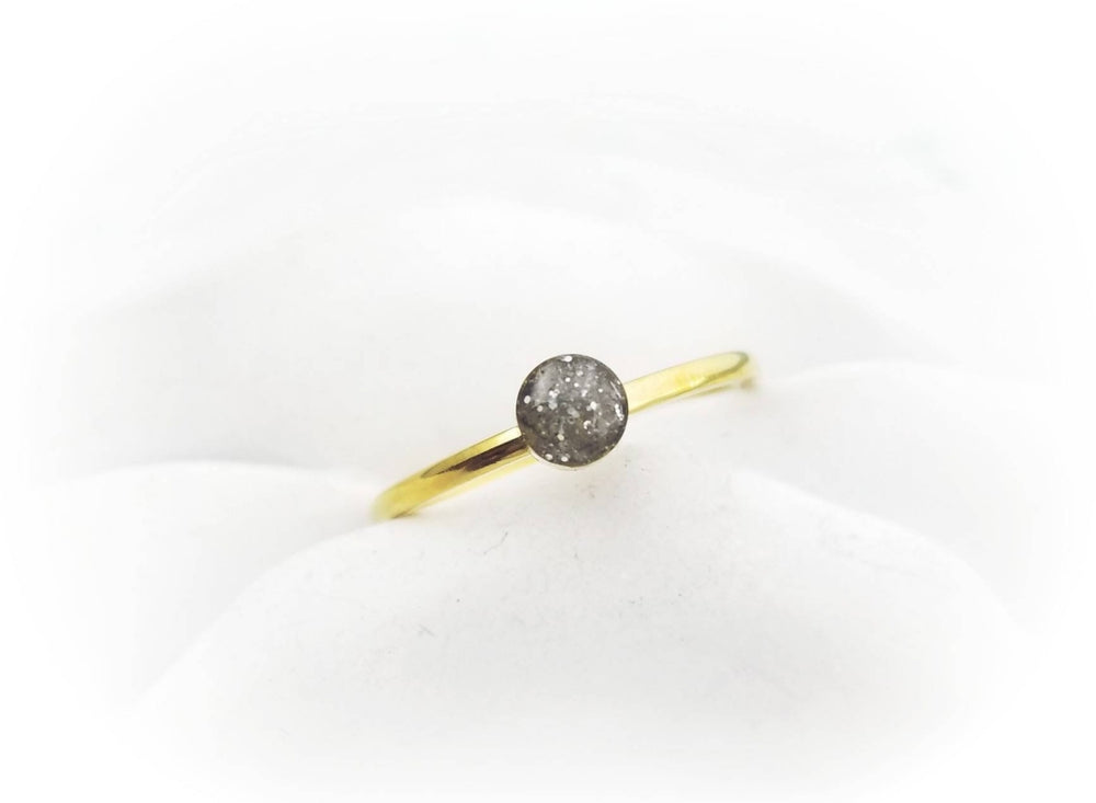 14k Gold Plated Cremation Ring