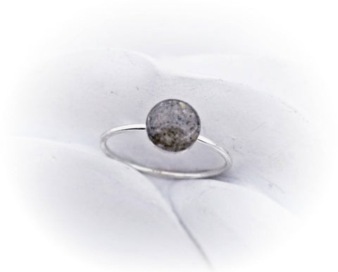 Sterling Silver 6mm Cremation Ring