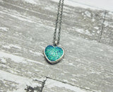 Cremation Necklace Made with your loved one's actual ashes
