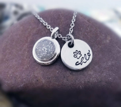 Personalized Cremation Necklace