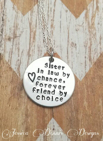 Sister In Law Necklace