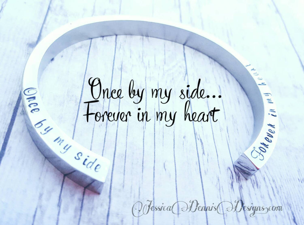 SALE! Cremation Bangle - Urn Bracelet - Personalized - Custom Urn Jewelry - Memorial Jewelry - Sympathy Gift  - Cremation Bracelet