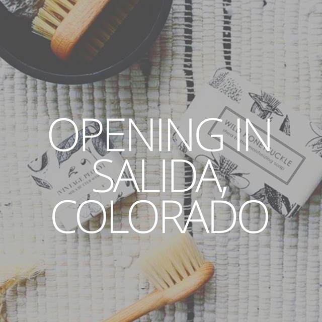 We are opening a new store in Salida, Colorado!