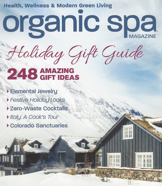 SEEN & HEARD - ORGANIC SPA MAGAZINE - DECEMBER 2018