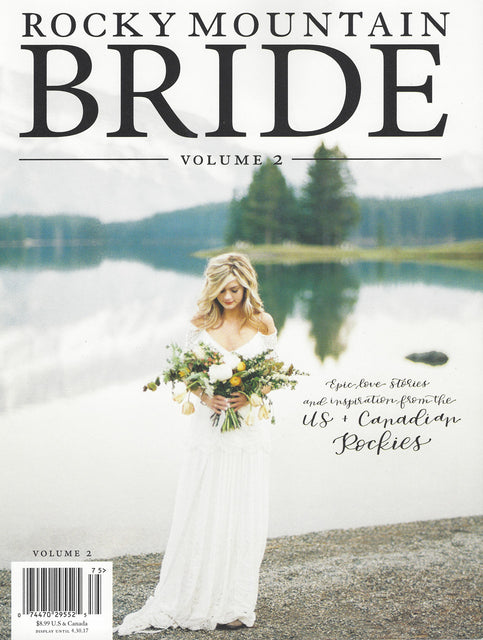SEEN & HEARD - ROCKY MOUNTAIN BRIDE MAGAZINE - VOL 2. 2017