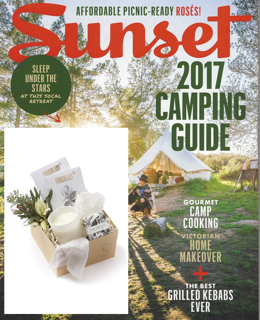 SEEN & HEARD - SUNSET MAGAZINE - MAY 2017
