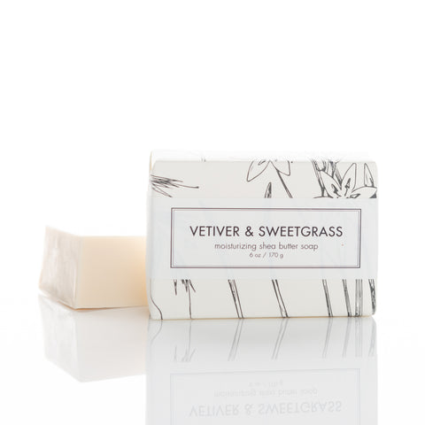 Vetiver & Sweetgrass Shea Butter Soap