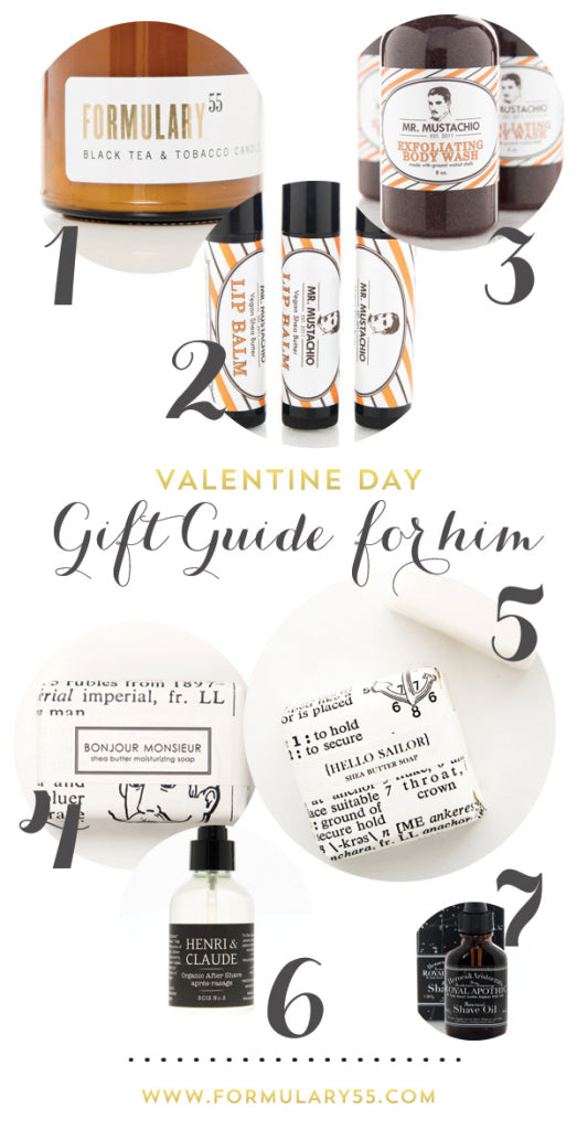 gift guide for men valentines 2014