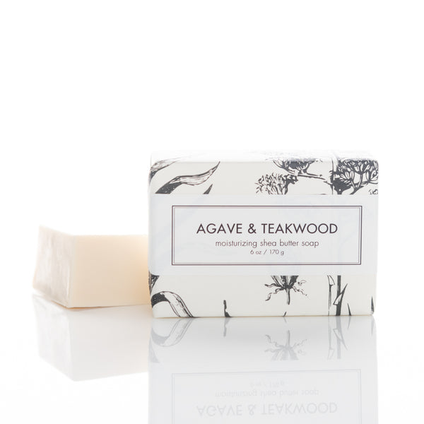 Agave and Teakwood shea butter soap