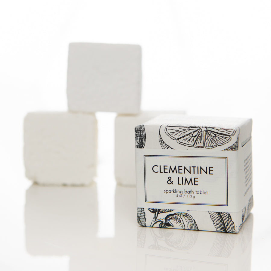 Clementine & Lime Bath Tablet by Formulary 55