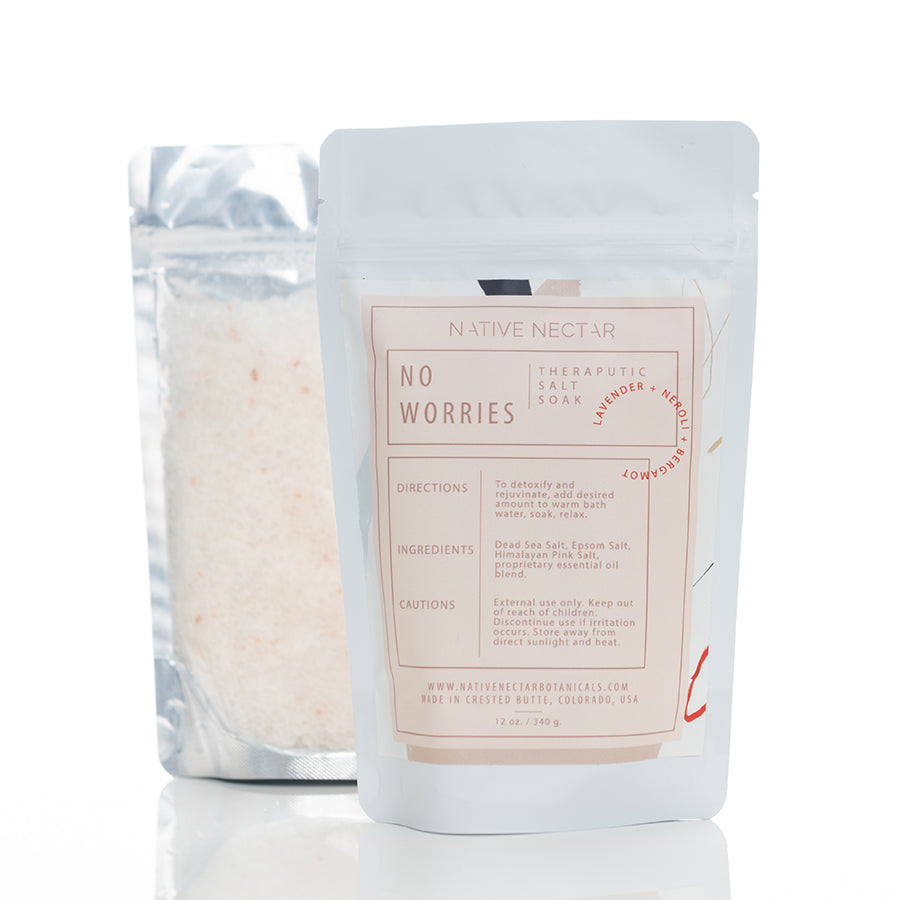 sea mineral salt soak