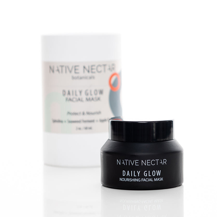 native nectar daily glow face mask