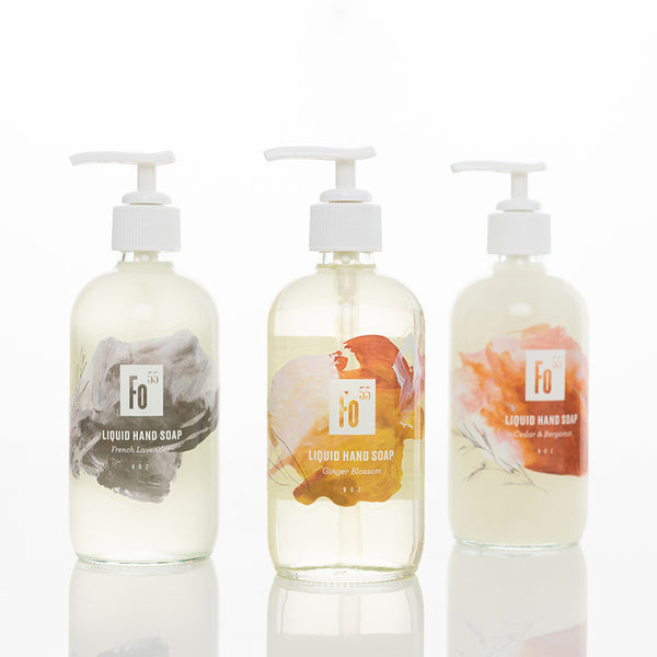 natural hand wash by formulary 55
