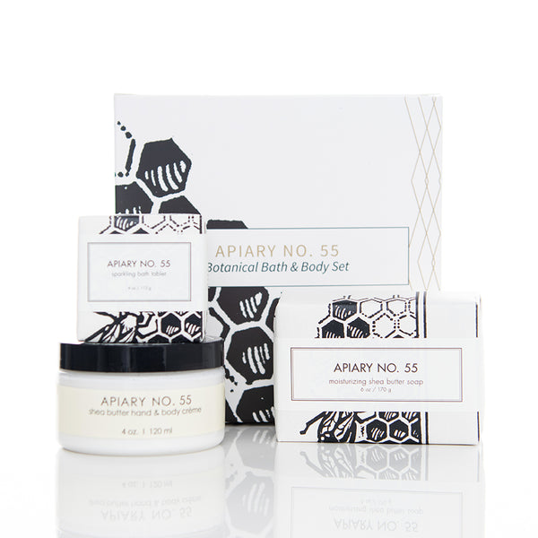 Botanical Bath & Body Gift Set - Apiary No. 55
