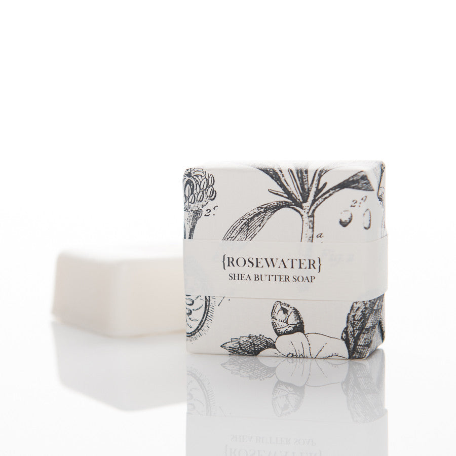 Shea Butter Soap - Rosewater Guest Bar