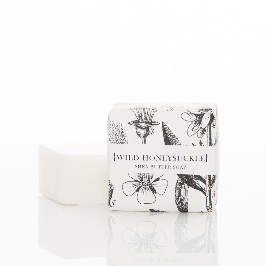 Shea Butter Soap - Wild Honeysuckle Guest Bar