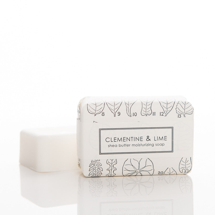 Shea Butter Soap - Clementine & Lime Bath Bar